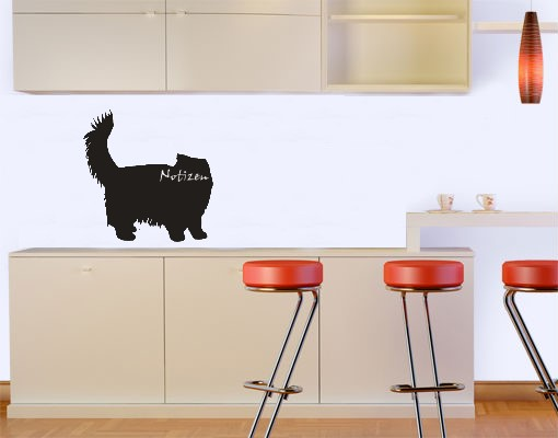 katzen kreidetafel f r k che cafe oder kinderzimmer tierisch tolle geschenke. Black Bedroom Furniture Sets. Home Design Ideas