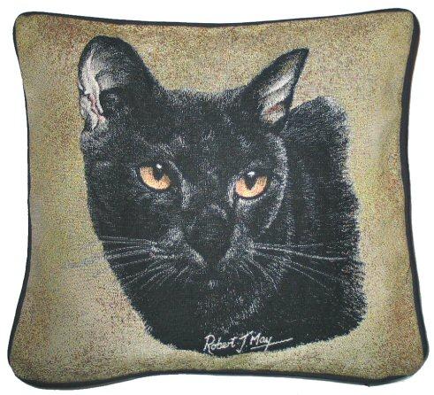 hunde katzenmotiv baumwoll kissen katze bombay tierisch tolle geschenke. Black Bedroom Furniture Sets. Home Design Ideas