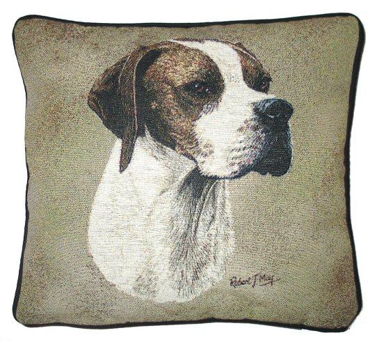 Hunde baumwoll kissenbezug pointer tierisch tolle geschenke for Kissenbezug selbst gestalten