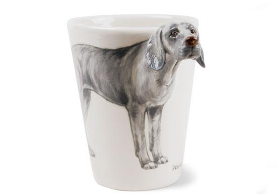 Tassen Hund : Hunde d designer tasse weimaraner tierisch tolle geschenke