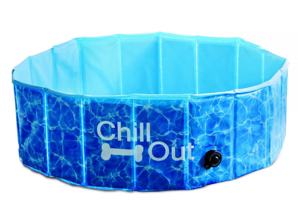 chill out splash fun dog pool hundepool 80 cm tierisch tolle geschenke. Black Bedroom Furniture Sets. Home Design Ideas