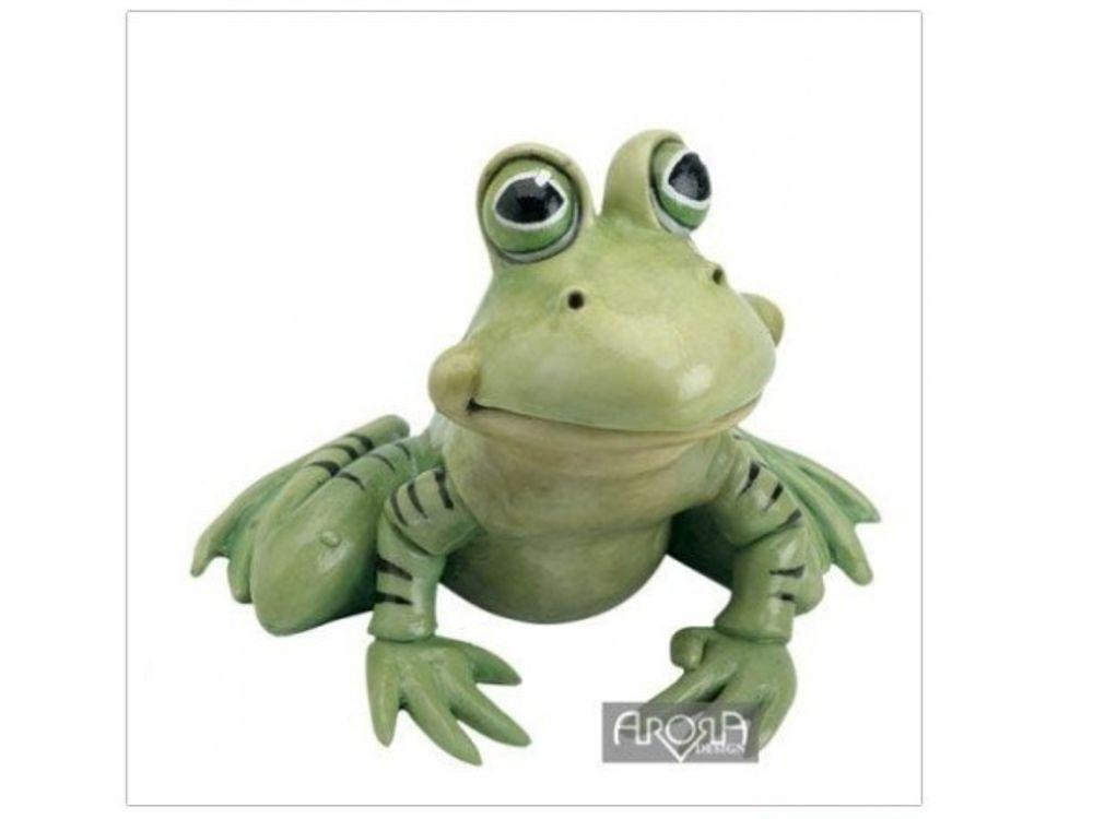 Arora Deko Figur Freddy Der Frosch Klein Tierisch