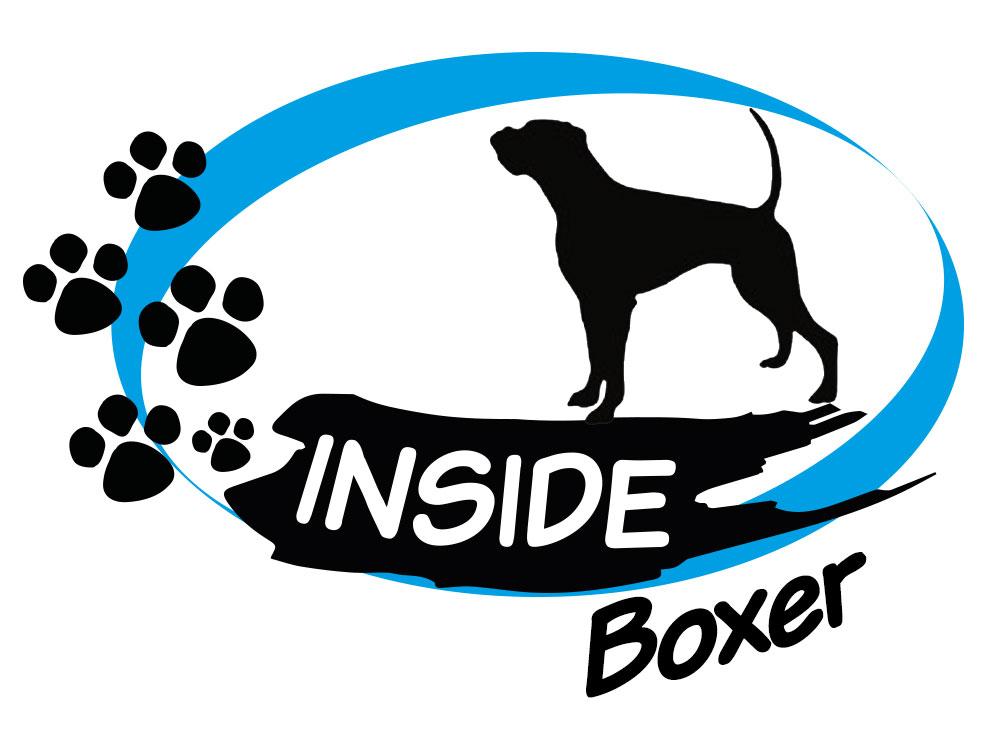 inside aufkleber boxer 3 hund inside auto aufkleber tierisch tolle geschenke. Black Bedroom Furniture Sets. Home Design Ideas