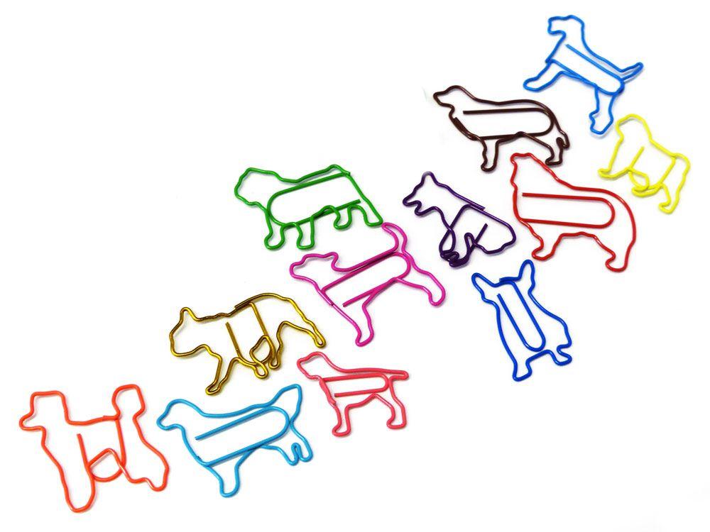 Buroklammer Hund Knochen Und Katzen Buroklammern Tierisch Tolle