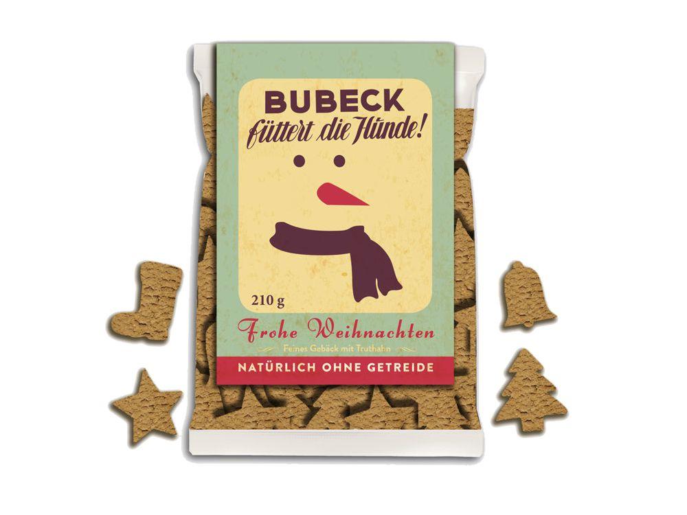 bubeck 39 s hundekekse weihnachten getreidefrei tierisch tolle geschenke. Black Bedroom Furniture Sets. Home Design Ideas