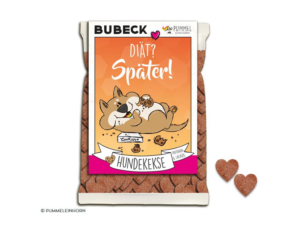 Bubeck Pummeleinhorn Hundekekse Diat Spater Getreidefrei