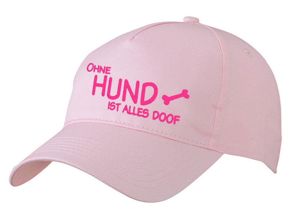 hundefan cap ohne hund ist alles doof caps tierisch tolle geschenke. Black Bedroom Furniture Sets. Home Design Ideas