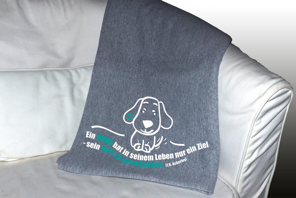 mobel zu verschenken esslingen : Hunde-Schmusedecke -Herz zu verschenken- - Tierisch-tolle-Geschenke