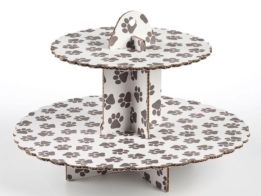 cupcake kuchen etagere pfoten tierisch tolle geschenke. Black Bedroom Furniture Sets. Home Design Ideas