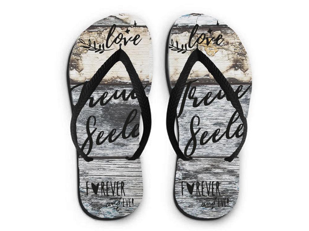 flip flops sandalen treue seele flip flops tierisch tolle geschenke. Black Bedroom Furniture Sets. Home Design Ideas