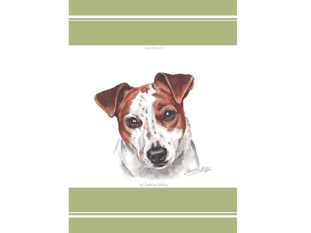 geschirrtuch jack russel terrier tierisch tolle geschenke. Black Bedroom Furniture Sets. Home Design Ideas