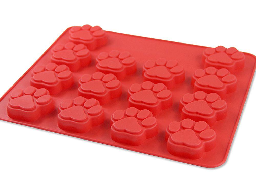 Silikon Backform Hundepfoten M 14 Pfoten Tierisch Tolle Geschenke