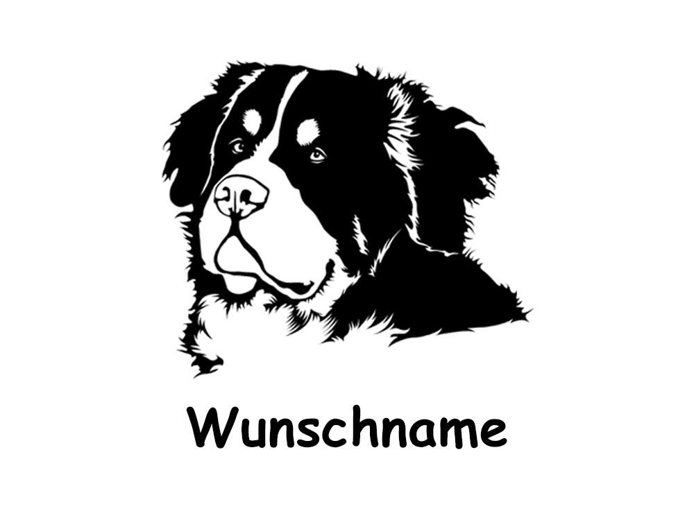 Berner Sennenhund Wandtattoo Tierisch Tolle Geschenke