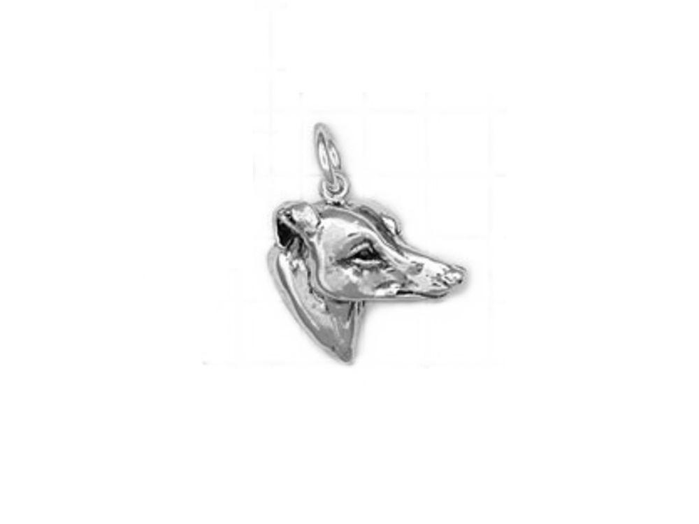 Schmuck - Anhänger  Greyhound Kopf klein -925er Sterling Silber ... 8e96f7b241