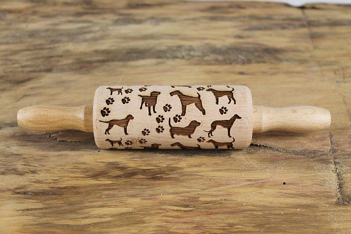 teigrolle keksrolle hunde backformen zubeh r tierisch tolle geschenke. Black Bedroom Furniture Sets. Home Design Ideas