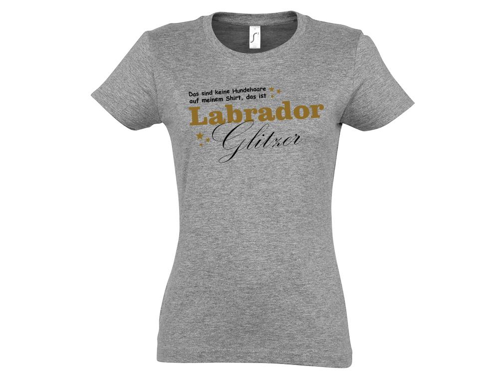 Hundespruch T-Shirt: Das sind keine Hundehaare, das ist Glitzer