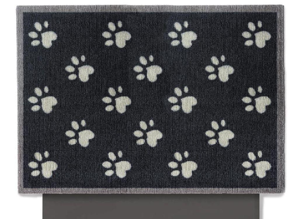premium hunde autoschondecke pfoten 80 x 100 cm dunkelgrau einstiegschutz tierisch tolle. Black Bedroom Furniture Sets. Home Design Ideas