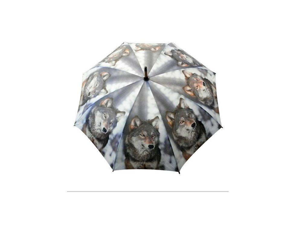 wolf design regenschirm natur wolf tierisch tolle geschenke. Black Bedroom Furniture Sets. Home Design Ideas