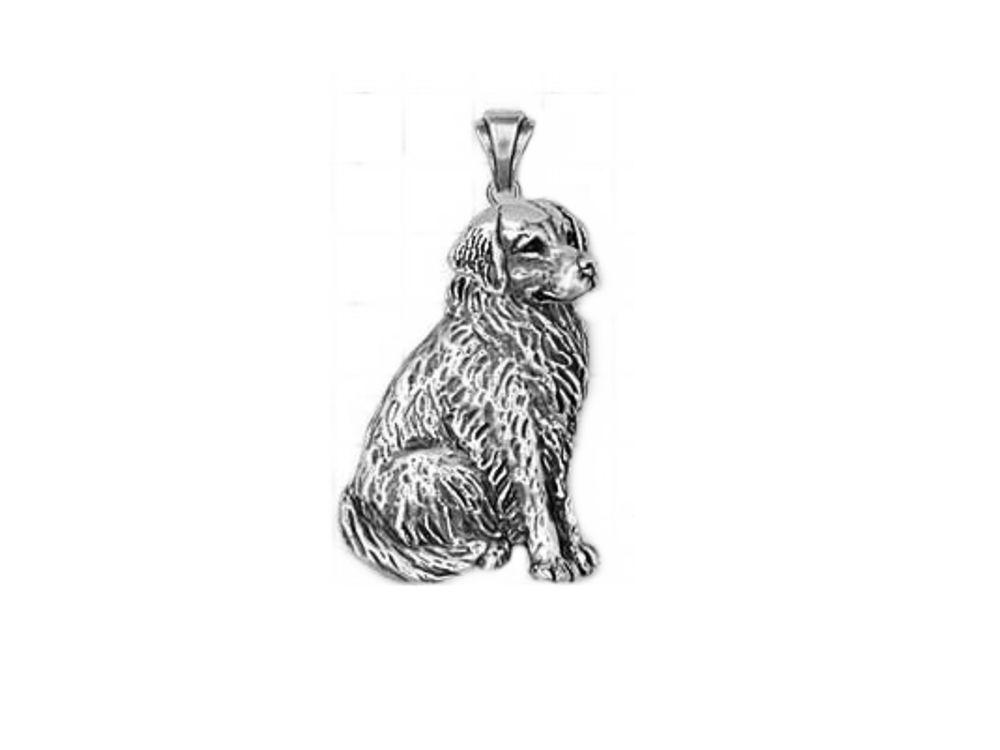 Schmuckanhänger  Hunde Schmuck Anhänger: Golden Retriever sitzend groß - Tierisch ...