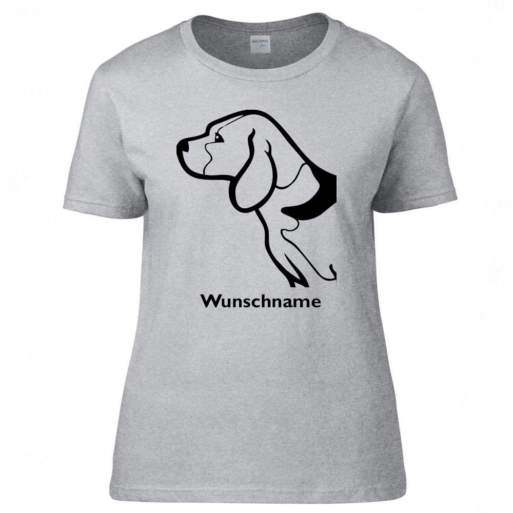 Hundesportweste mit R/ückentasche und Namen Tierisch-tolle Geschenke Beagle