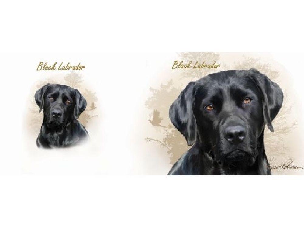 Tassen Hund : Hunde motiv tasse labrador schwarz sepia tierisch