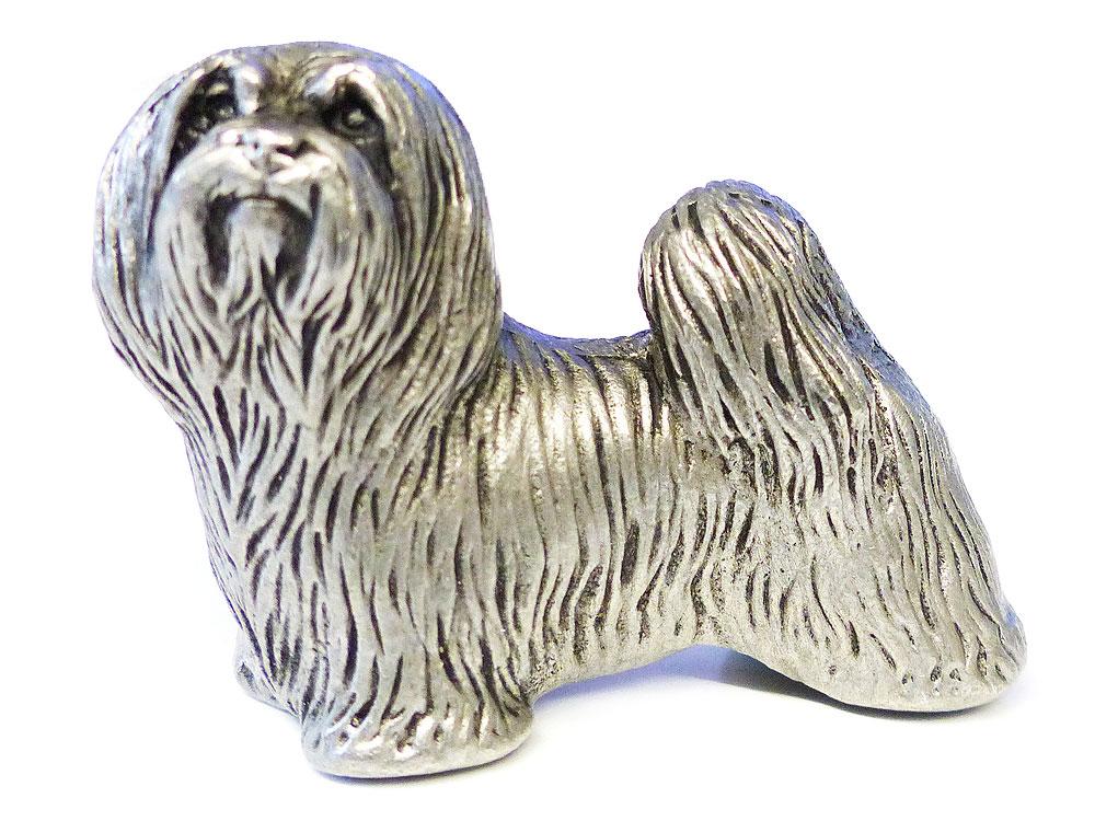 hunde metall figur tibetan terrier tierisch tolle geschenke. Black Bedroom Furniture Sets. Home Design Ideas