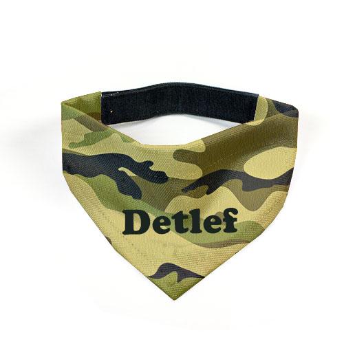 100% original Factory Outlets modernes Design Hunde-Halstuch Wunschname Camouflage