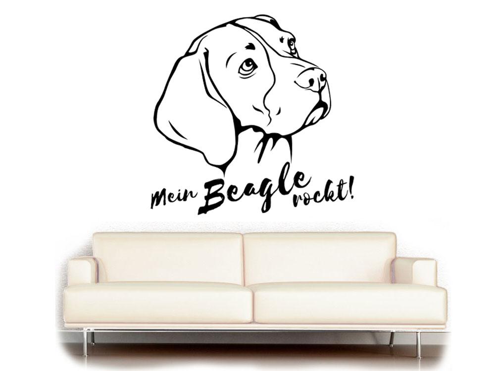 ohne hund ist alles doof wandtattoo 2 0 tierisch tolle geschenke. Black Bedroom Furniture Sets. Home Design Ideas