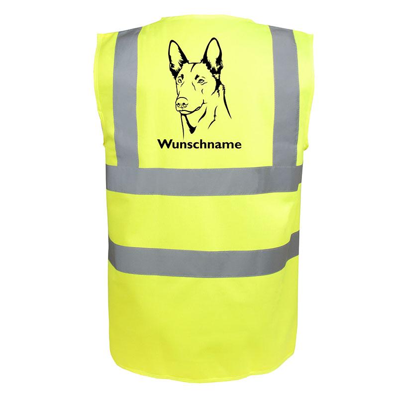Holländischer Schäferhund Hundesport Warnweste Sicherheitsweste Mit Hundemotiv