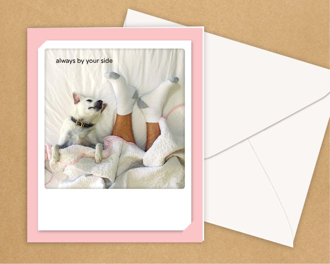 Pickmotion Karte: Always by your side - Tierisch-tolle-Geschenke