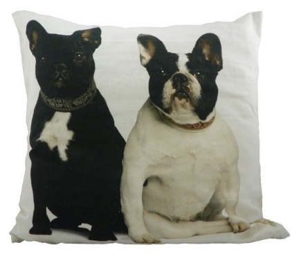Bulldoggen Kissen Bulldoggen Kissen Hunde Canvas Kissen Franz 246 Sische