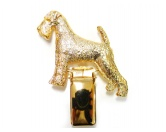 Taschen & RucksäckeCanvas Tasche HunderasseHunderassen-Ringclip 24k Vergoldet: Airedale Terrier