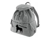 Für MenschenAuto-SonnenschutzCanvas Rucksack Hunderasse: Belgischer Schäferhund - Malinois