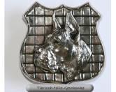 SchnäppchenPlakette & Plaque: Dogge Cr.