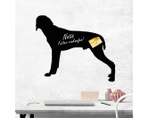Socken mit TiermotivSocken mit HundemotivKreidetafel Hunderasse: Vizsla 1
