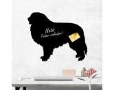 Aufkleber & TafelnAufkleber - Silhouetten-SatzSelbstklebende Kreidetafel: Pyrenäen Berghund 2