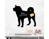 Bekleidung & AccessoiresHundesportwesten mit Hundemotiven inkl. Rückentasche MIL-TEC ®Kreidetafel Hunderasse: Shiba Inu 1