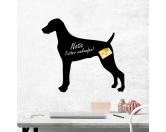 Bekleidung & AccessoiresHundesportwesten mit Hundemotiven inkl. Rückentasche MIL-TEC ®Kreidetafel Hunderasse: Weimaraner 1