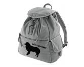 Bekleidung & AccessoiresSchals für TierfreundeCanvas Rucksack Hunderasse: Border Collie