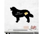 Für MenschenAuto-SonnenschutzKreidetafel Hunderasse: Golden Retriever 1
