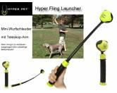 Spielzeuge für HundeHyper Fling Launcher - Mini-Wurfschleuder