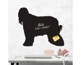 Bekleidung & AccessoiresHundesportwesten mit Hundemotiven inkl. Rückentasche MIL-TEC ®Kreidetafel Hunderasse: Afghane 1