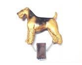 Taschen & RucksäckeCanvas Tasche HunderasseHundeausstellungs-Startnummern-Clip: Airedale Terrier