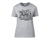 Für MenschenAuto-SonnenschutzT-Shirt Damen: Ohne Hund ist alles doof 2.0