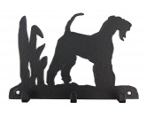 Taschen & RucksäckeCanvas Tasche HunderasseAiredale Terrier Leinengarderobe - Schlüsselbrett