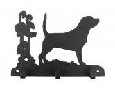 Bekleidung & AccessoiresHundesportwesten mit Hundemotiven inkl. Rückentasche MIL-TEC ®Beagle Leinengarderobe - Schlüsselbrett