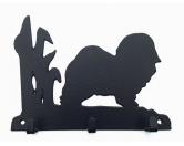 Bekleidung & AccessoiresHundesportwesten mit Hundemotiven inkl. Rückentasche MIL-TEC ®Havaneser Leinengarderobe - Schlüsselbrett
