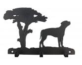 Socken mit TiermotivSocken mit HundemotivRhodesian Ridgeback Leinengarderobe - Schlüsselbrett