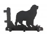 Socken mit TiermotivSocken mit HundemotivNeufundländer Leinengarderobe - Schlüsselbrett