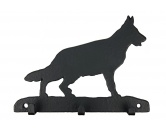 Für TiereHundemotiv - HandtücherDeutscher Schäferhund 2 Leinengarderobe - Schlüsselbrett